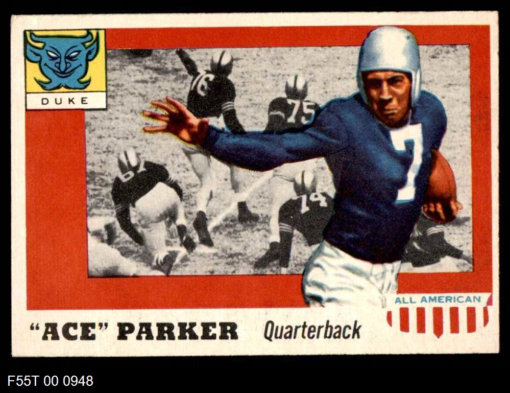 1955 Topps #84  Ace Parker