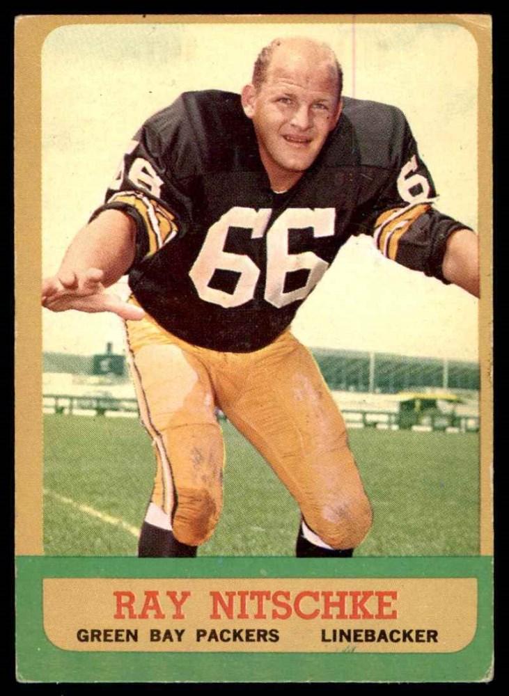 1963 Topps #96  Ray Nitschke