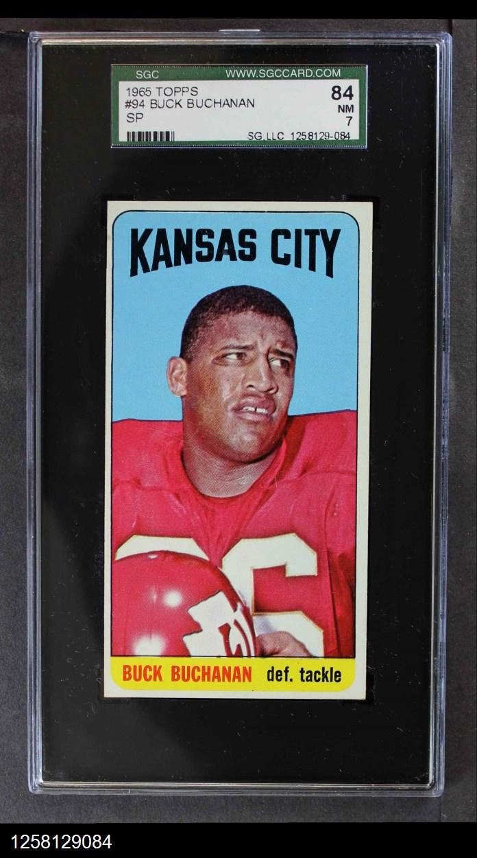 1965 Topps #94  Buck Buchanan