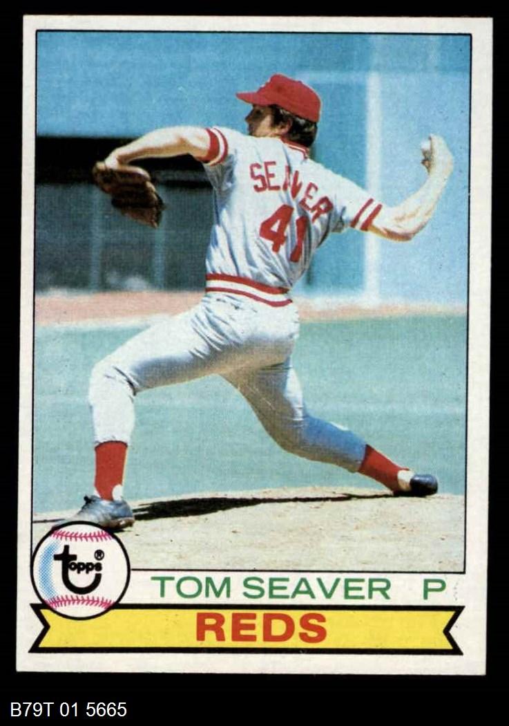 1979 Topps #100  Tom Seaver