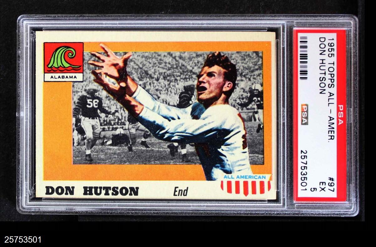 1955 Topps #97  Don Hutson