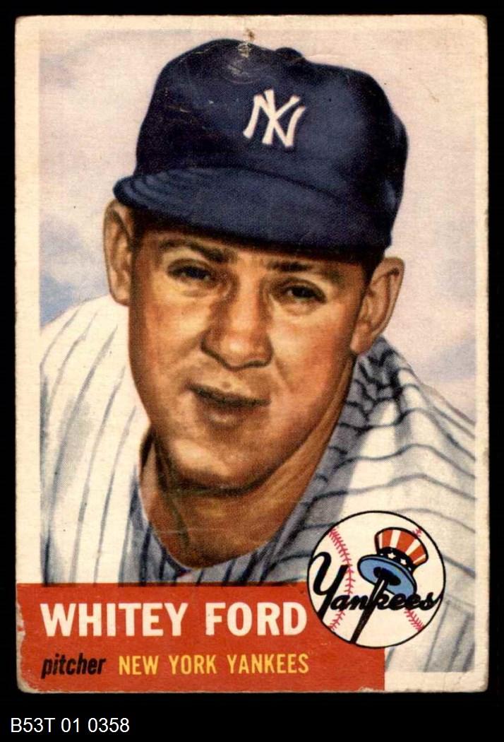 1953 Topps #207  Whitey Ford