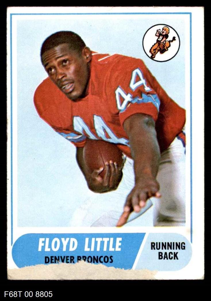 1968 Topps #173  Floyd Little