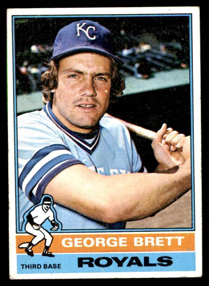 1976 Topps #19  George Brett