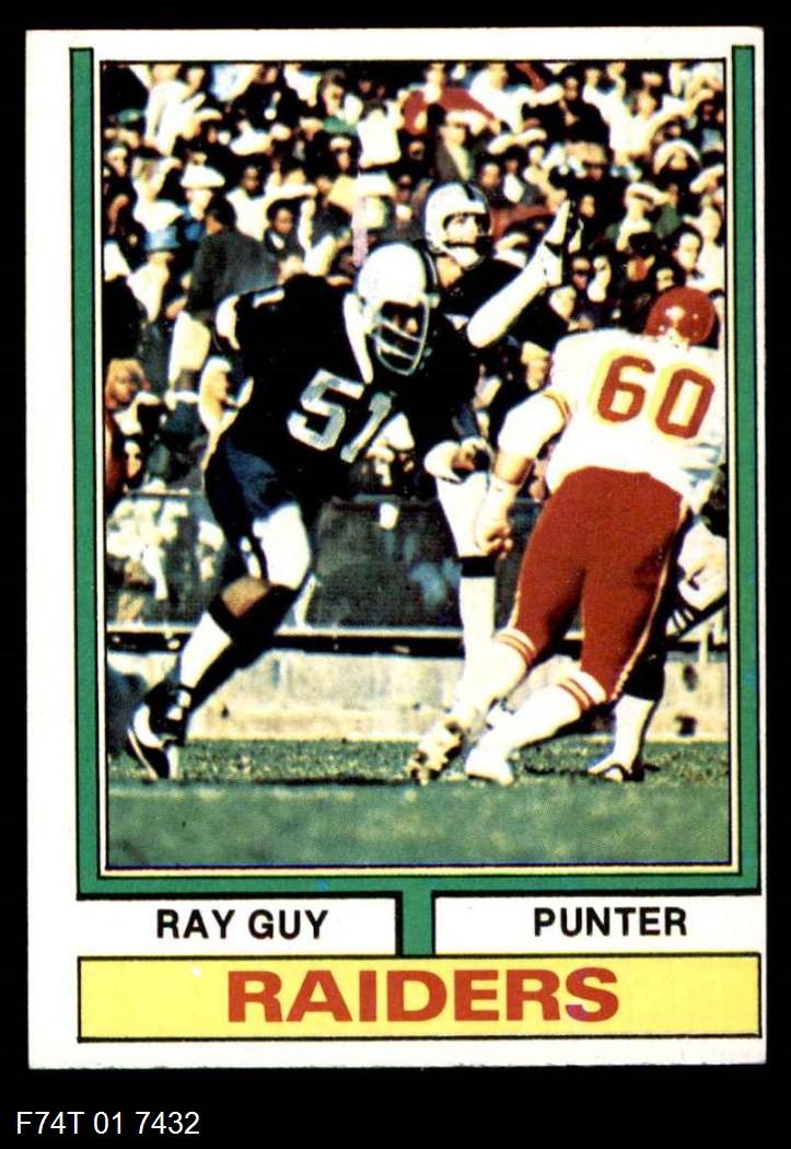 1974 Topps #219  Ray Guy