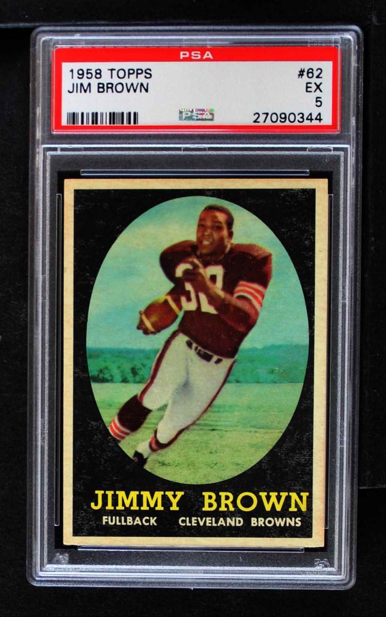1958 Topps #62  Jim Brown