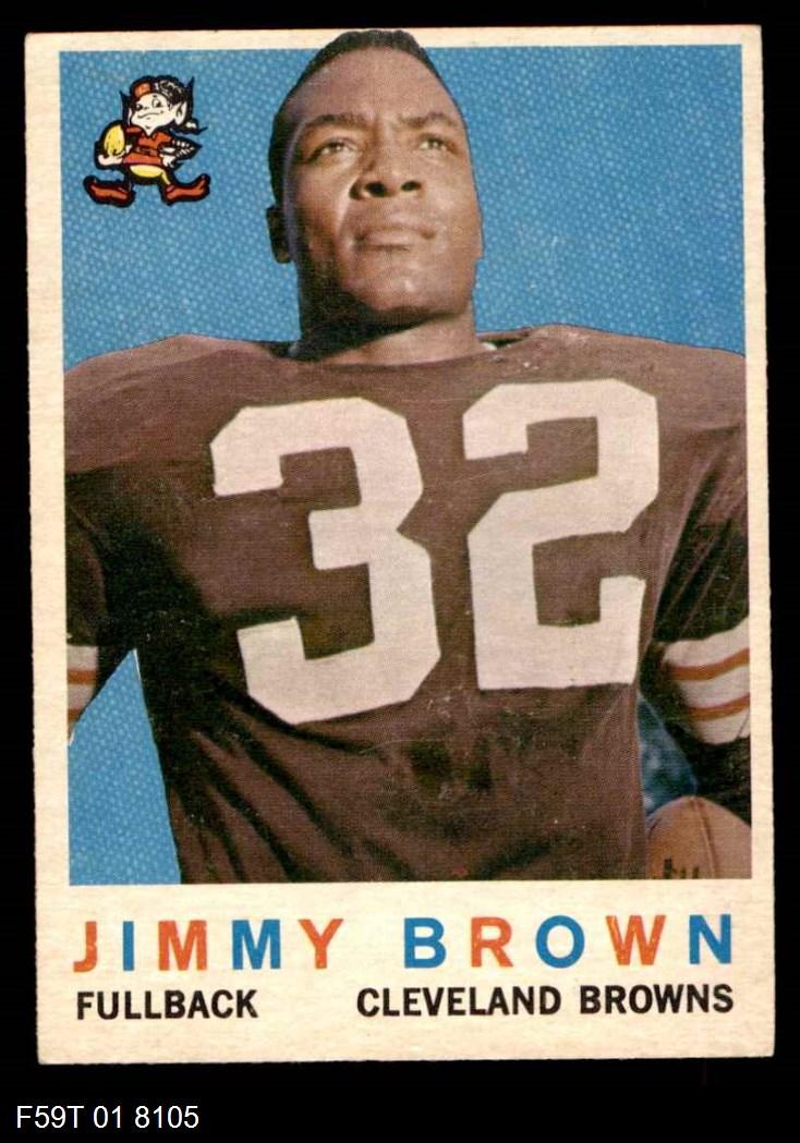 1959 Topps #10  Jim Brown