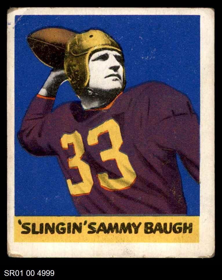 1948 Leaf #34  Sammy Baugh