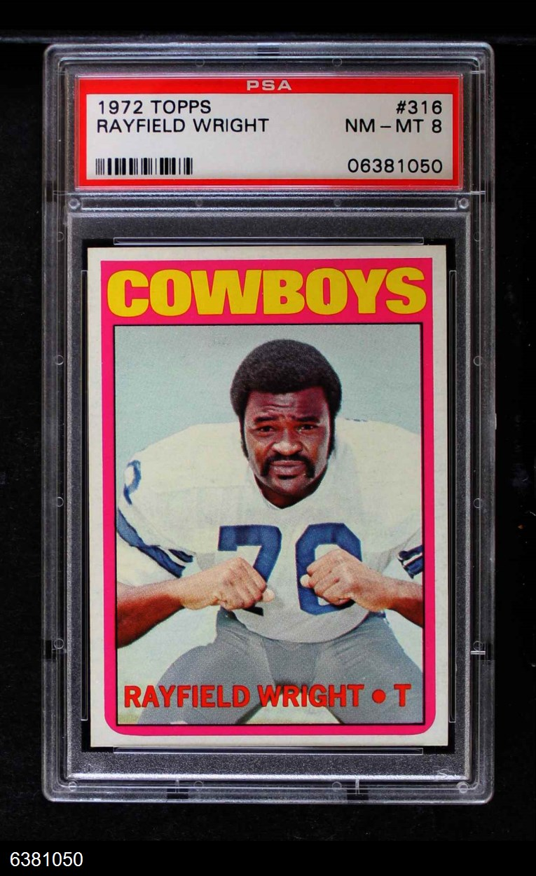 1972 Topps #316  Rayfield Wright