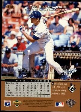 1996 Upper Deck #118  Todd Hollandsworth