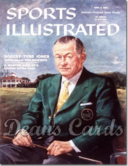 1959 Sports Illustrated - With Label   April 6  -  Bobby Jones