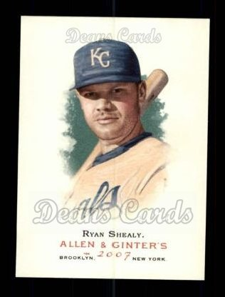 2007 Topps Allen & Ginter #67  Ryan Shealy