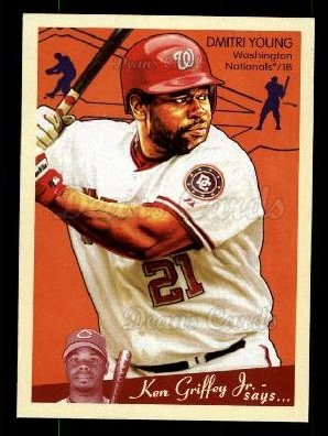 2008 Upper Deck Goudey #196  Dmitri Young