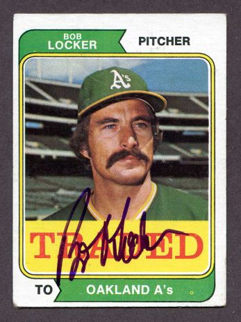 1974 Topps Traded #62 T Bob Locker