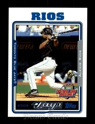 2005 Topps Opening Day #164  Alexis Rios