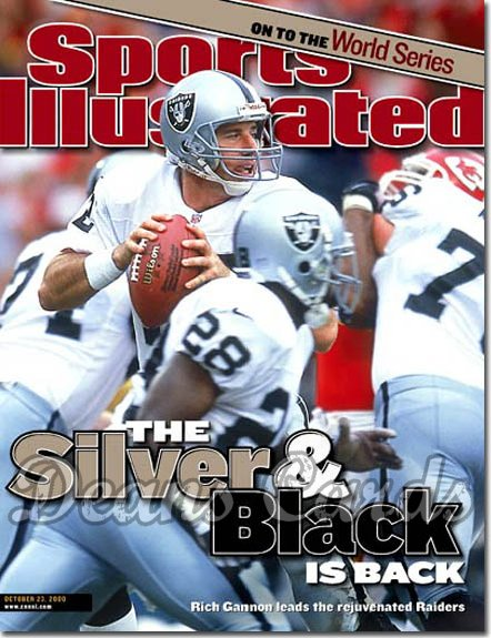 2000 Sports Illustrated   October 23  -  Rich Gannon Oakland