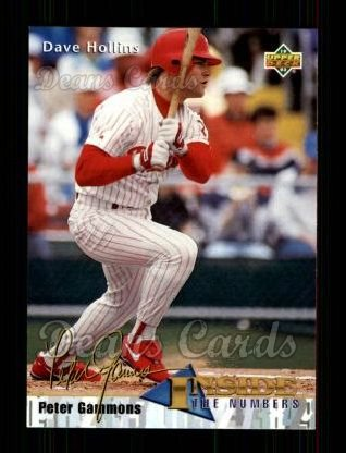 1993 Upper Deck #458  Dave Hollins