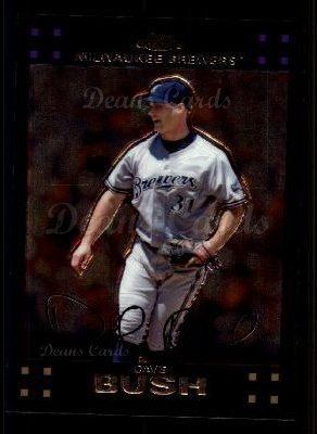 2007 Topps Chrome #49  Dave Bush