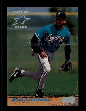 1998 Topps Stadium Club #365  Alex Gonzalez