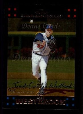 2007 Topps Chrome #35  Jake Westbrook