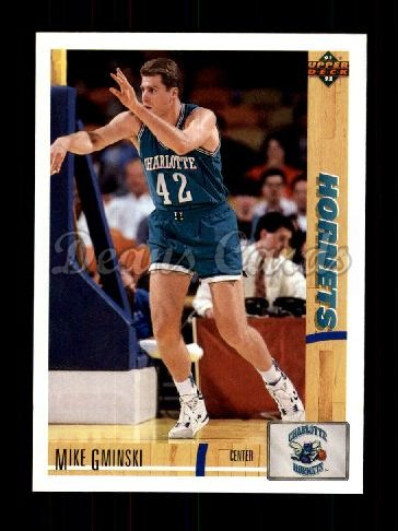 1991 Upper Deck #398  Mike Gminski