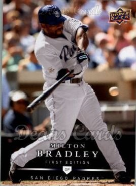 2008 Upper Deck First Edition #156  Milton Bradley