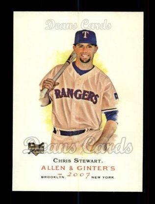 2007 Topps Allen & Ginter #254  Chris Stewart