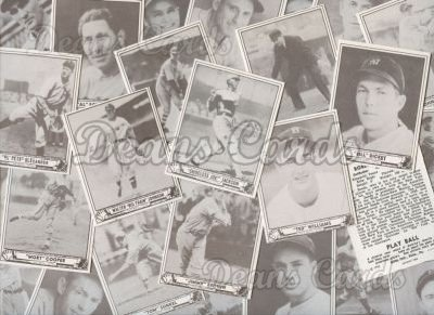 1940 Play Ball Reprints     Complete Set