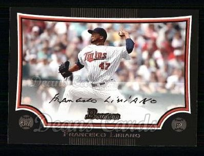 2009 Bowman #101  Francisco Liriano