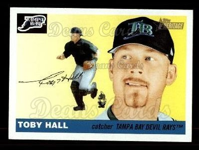 2004 Topps Heritage #147  Toby Hall
