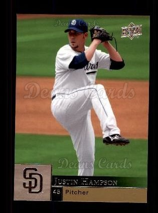 2009 Upper Deck #835  Justin Hampson