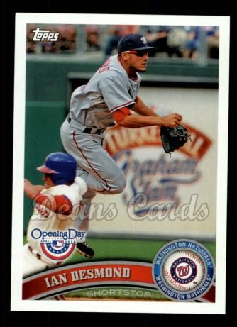 2011 Topps Opening Day #134  Ian Desmond