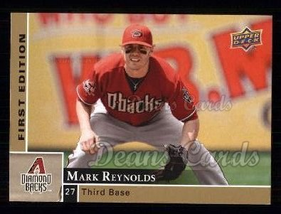 2009 Upper Deck First Edition #6  Mark Reynolds