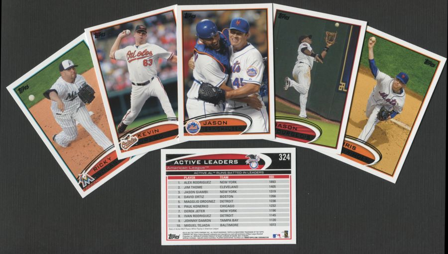 2012 Topps     Baseball Complete Factory Sealed Set