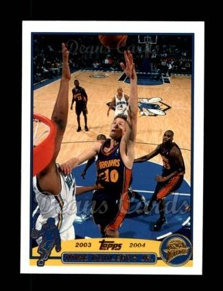 2003 Topps #37  Mike Dunleavy