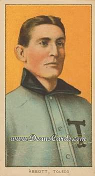 1909 T206 Reprint #3  Fred Abbott