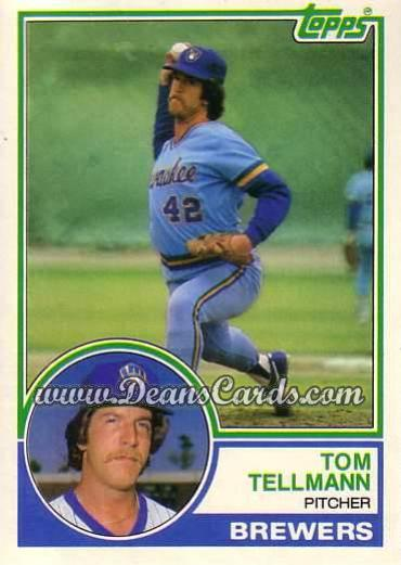 1983 Topps Traded #109 T Tom Tellmann