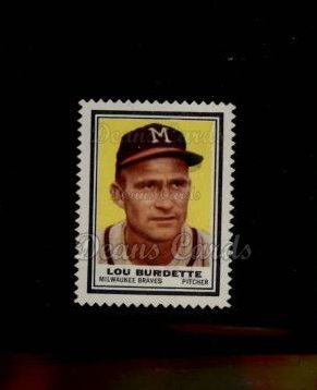 1962 Topps Stamps #146  Lew Burdette