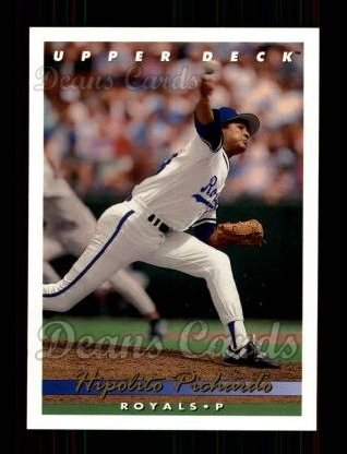 1993 Upper Deck #72  Hipolito Pichardo