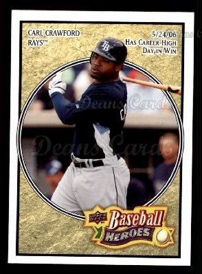 2008 Upper Deck Heroes #165  Carl Crawford
