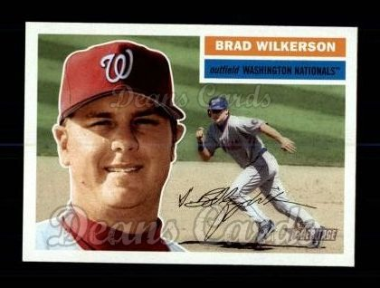 2005 Topps Heritage #340  Brad Wilkerson