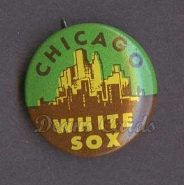 1966 Guys Potato Chip Pin #4   Chicago White Sox