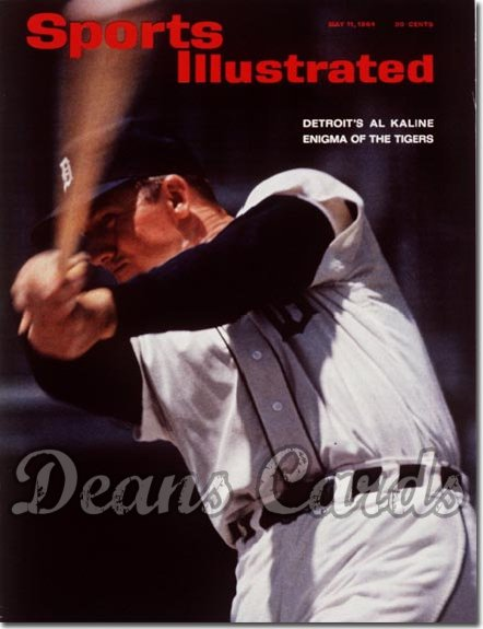 1964 Sports Illustrated   May 11  -  Al Kaline (Detroit Tigers)