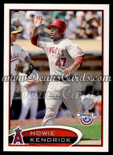 2012 Topps Opening Day #20  Howie Kendrick