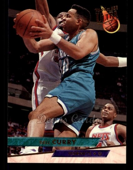 1993 Fleer Ultra #18  Dell Curry