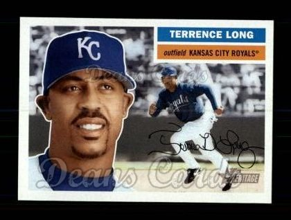 2005 Topps Heritage #38  Terrence Long