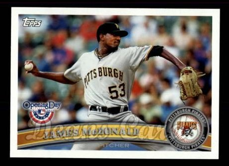 2011 Topps Opening Day #32  James McDonald