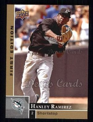 2009 Upper Deck First Edition #112  Hanley Ramirez