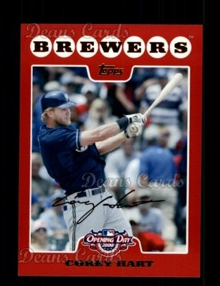 2008 Topps Opening Day #19  Corey Hart