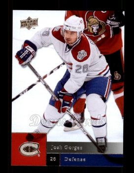 2009 Upper Deck #19  Josh Gorges